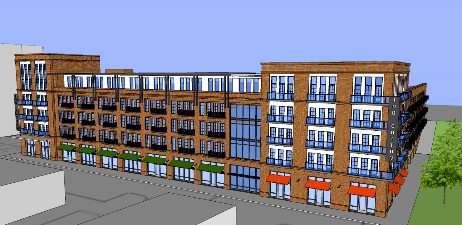 Mixed-Use Development in Downtown Augusta
