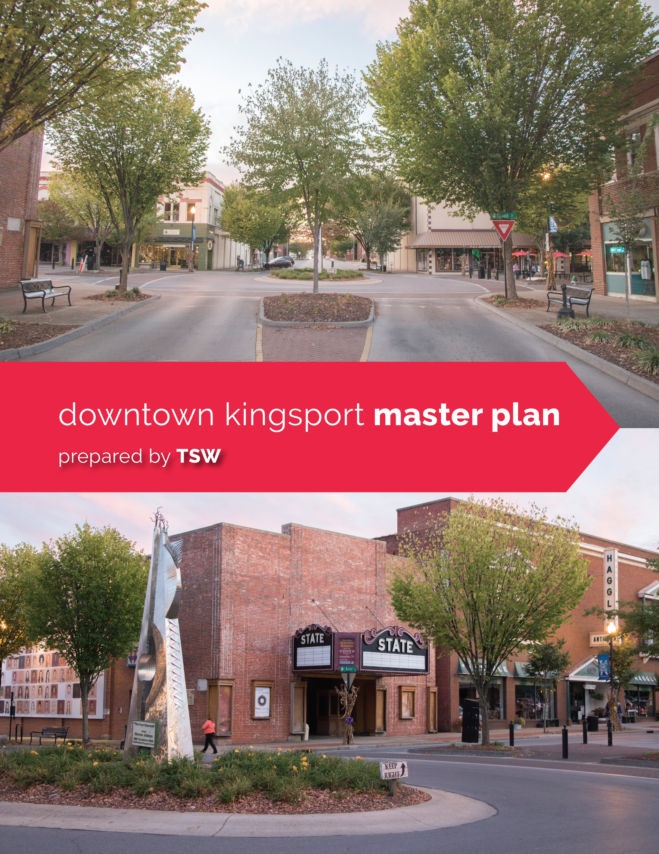 TSW Downtown-Kingsport-Master-Plan_FINAL_print-1 TSW's Adam Williamson to Present at TAPA Annual Conference Planning  Tennessee American Planning Association Annual Conference TAPA Downtown Master Planning Kingsport Adam Williamson   TSW