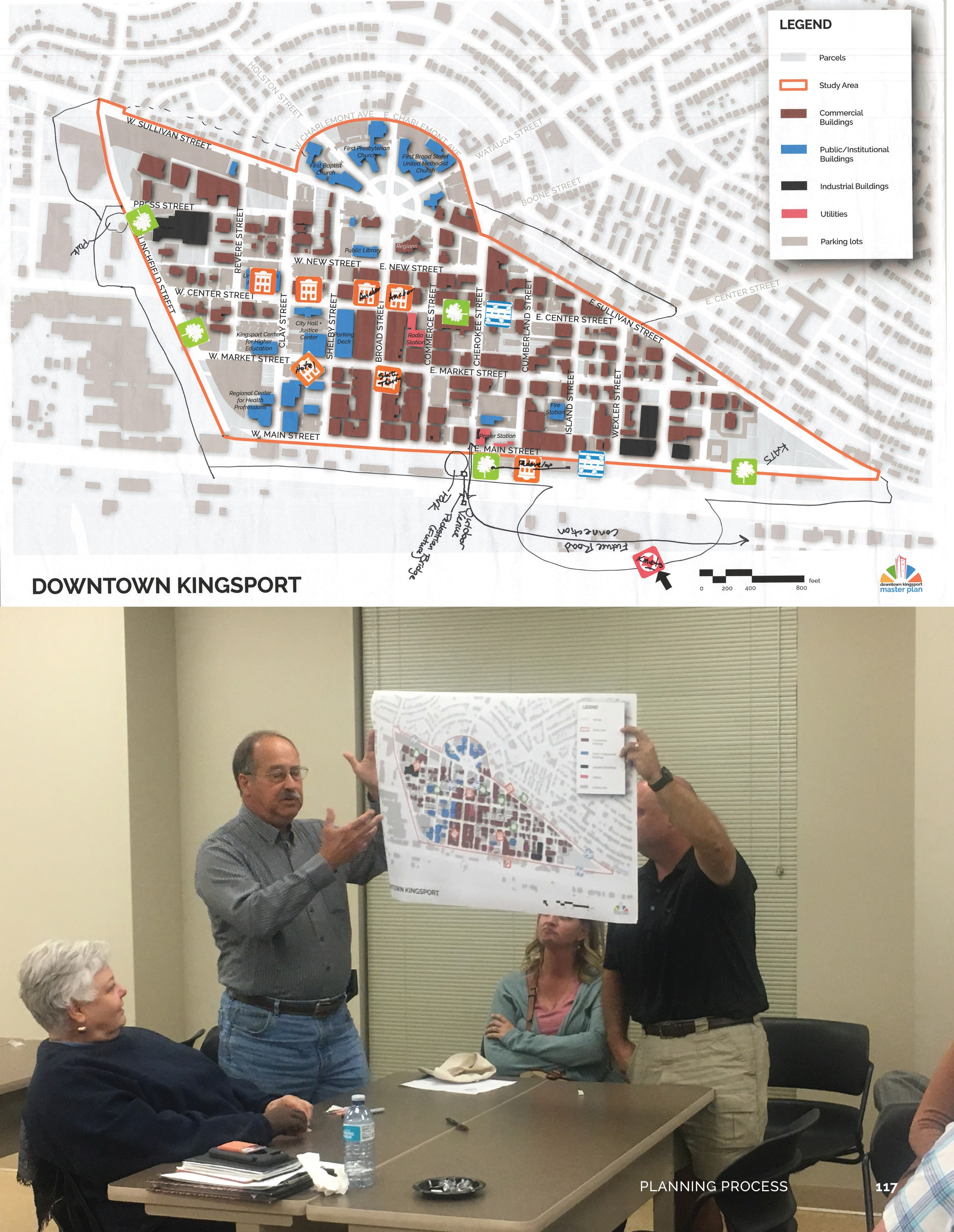 TSW Downtown-Kingsport-Master-Plan_FINAL_print-121 TSW's Adam Williamson to Present at TAPA Annual Conference Planning  Tennessee American Planning Association Annual Conference TAPA Downtown Master Planning Kingsport Adam Williamson   TSW