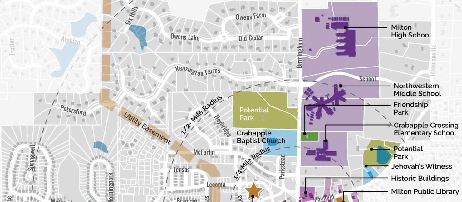 Downtown Milton Crabapple Placemaking Plan