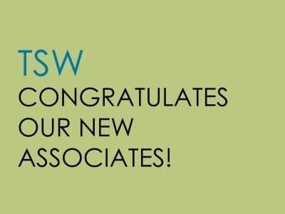 TSW Featured-Image-ASSOCIATES-FB-400x300 TSW Promotes Lionel Johnson and Kristin L'Esperance In The News  Kristin L'Esperance Lionel Johnson promotions   TSW