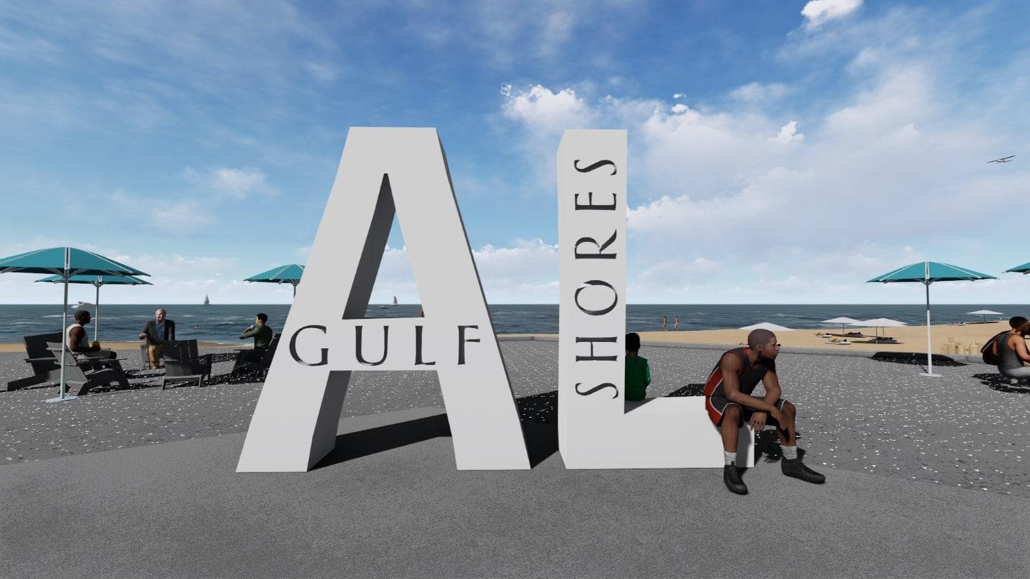 Gulf Place Signage