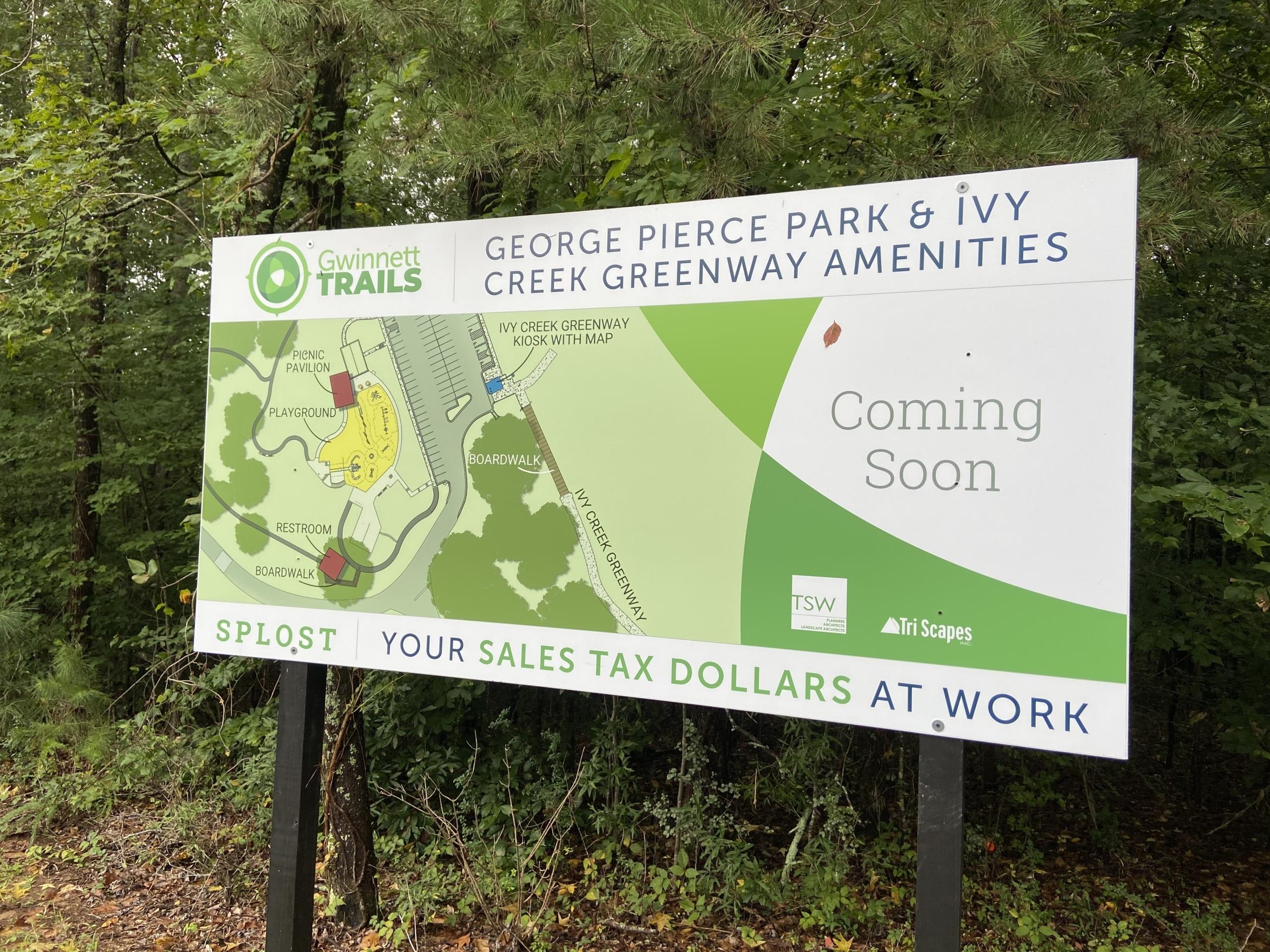 Gwinnett County George Pierce Park Update