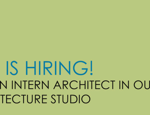 INTERN ARCHITECT with 3+ years of experience