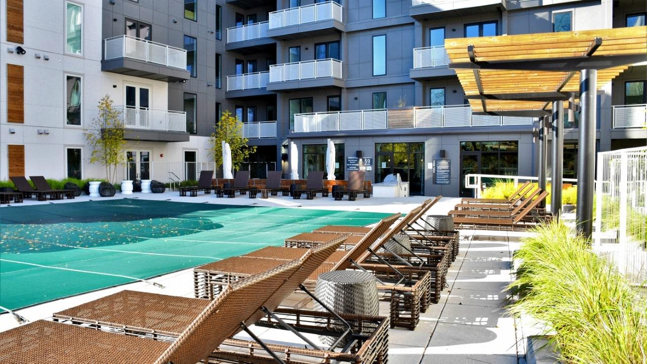 J&5 Apartment Building Landscape Architecture