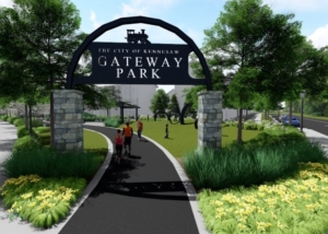 Kennesaw Gateway Park Sign Environmental Graphics
