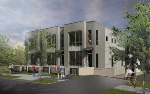 TSW LaFrance-Street-Townhomes_000-600x375 ARCHITECTURE    TSW
