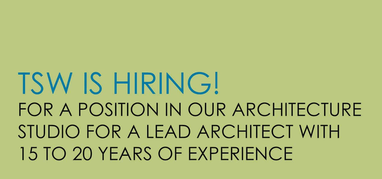 Hiring Lead Architect