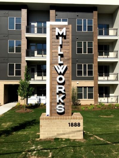 Millworks Signage