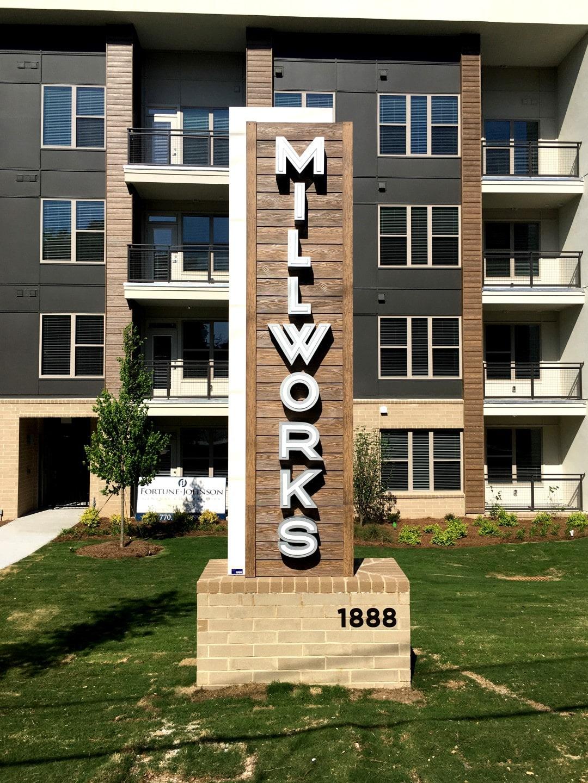 TSW Millworks_001 Millworks Signage    TSW
