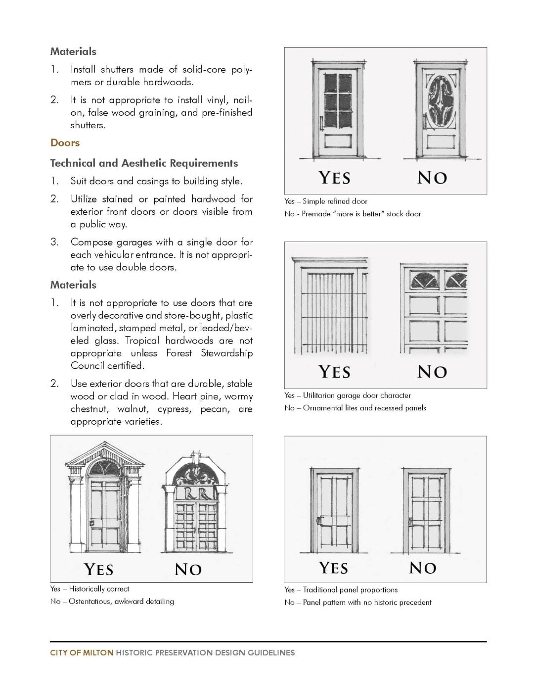 TSW MiltonHistoricGLs_13June_DRAFT_Page_50 Historic Preservation Design Guidelines    TSW
