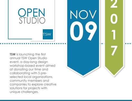 TSW's First Open Studio is Next Week