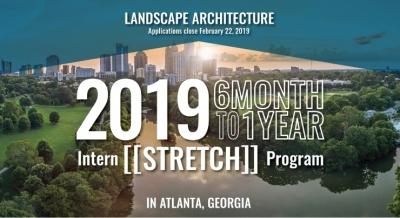 TSW NarrowBanner_TSW_Internship_Landscape_Arch_000-400x218 2019 Landscape Architecture Intern [[Stretch]] Program In The News Landscape Architecture Planning Giving Back    TSW