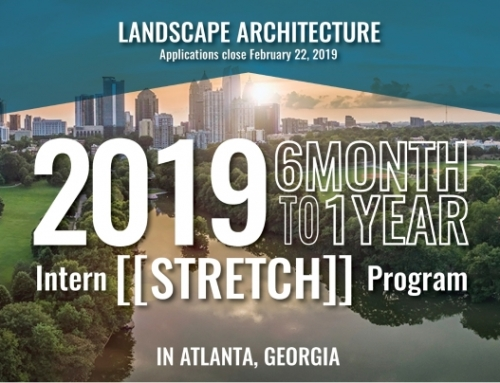 2019 Landscape Architecture Intern [[Stretch]] Program