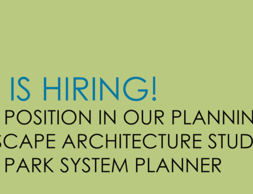 TSW is Hiring for a Park System Planner Position