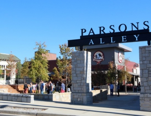Parsons Alley Signage