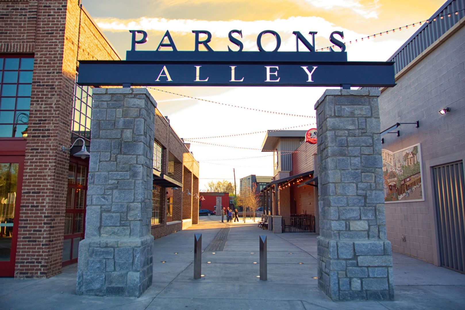 Parsons Alley - The Block