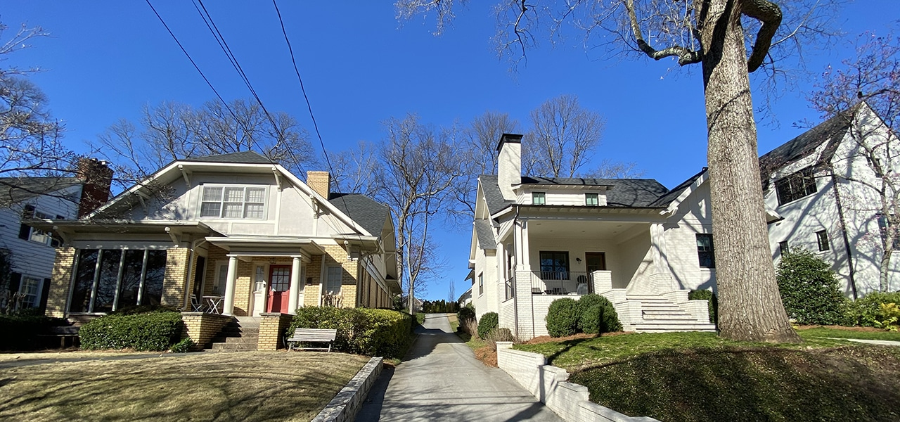 Poncey-Highland neighborhood stakeholders have worked together to use the City of Atlanta's Historic Preservation Ordinance to create a new Historic District