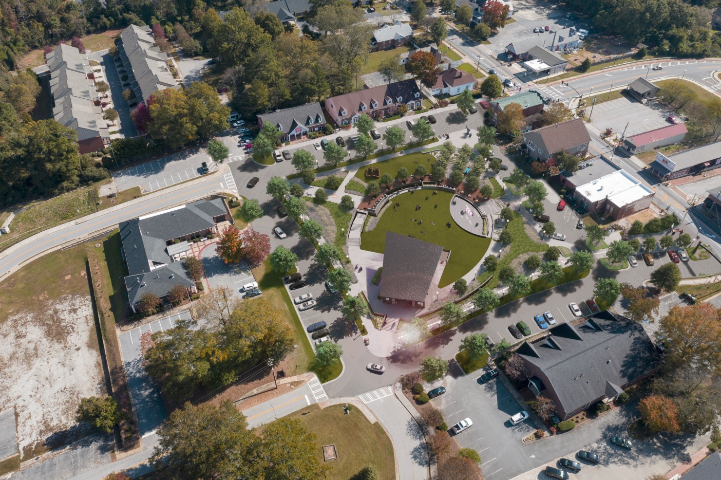 Place Based Branding Powder Springs Downtown Green Space