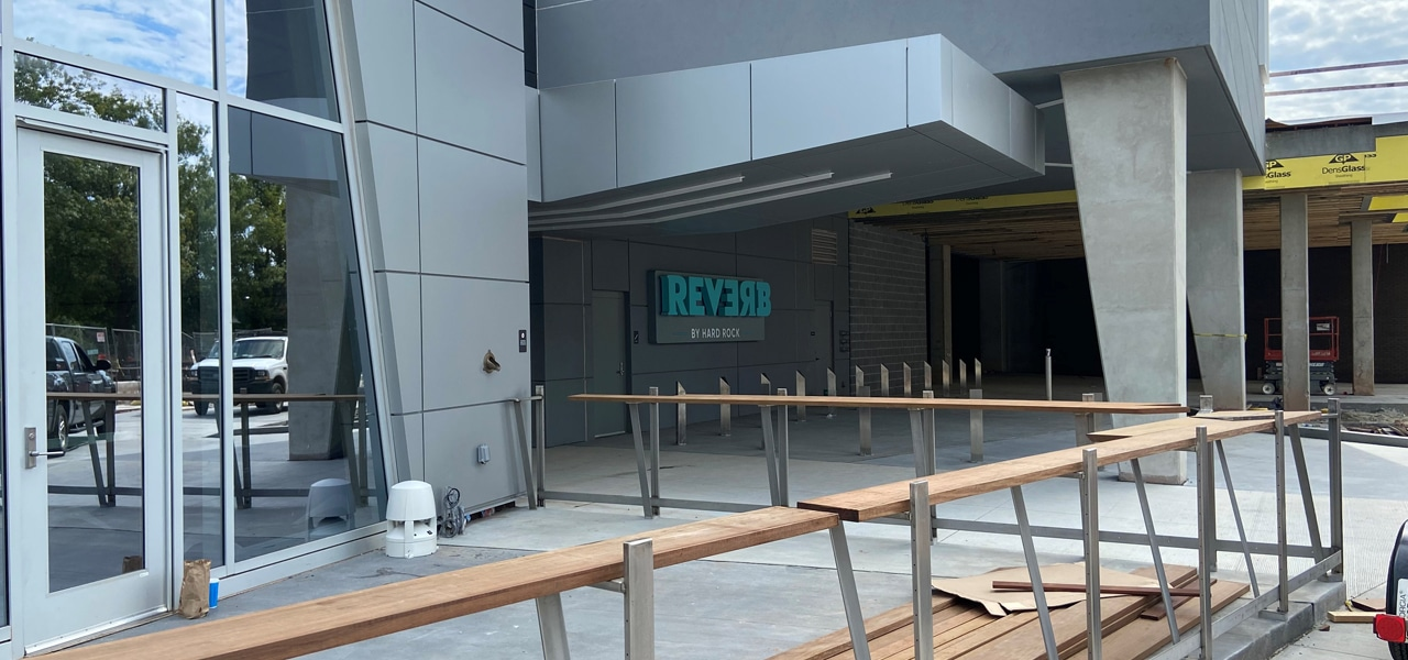 Hard Rock's Reverb Hotel Construction Update