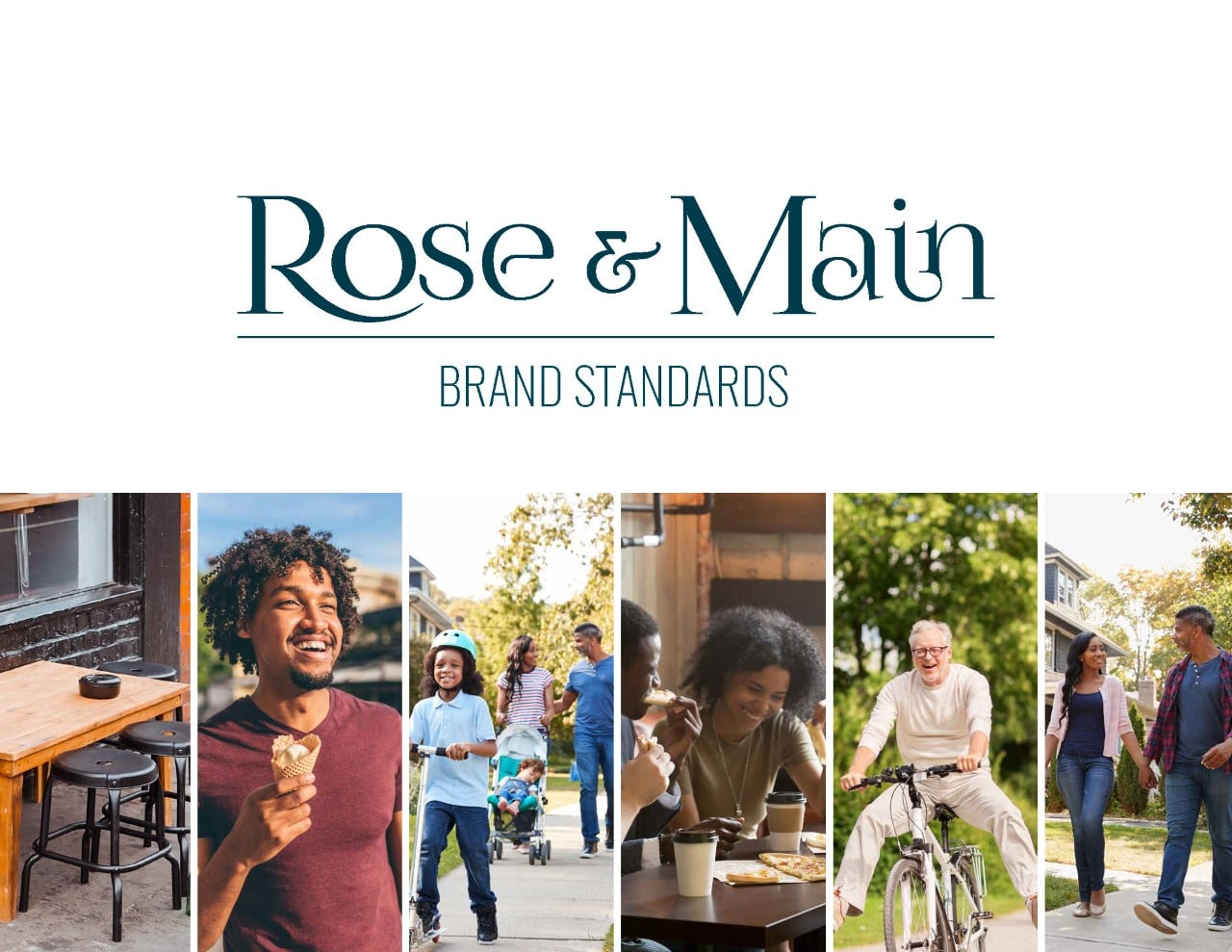 Rose & Main Brand Standards - Place Based Branding Cover Page