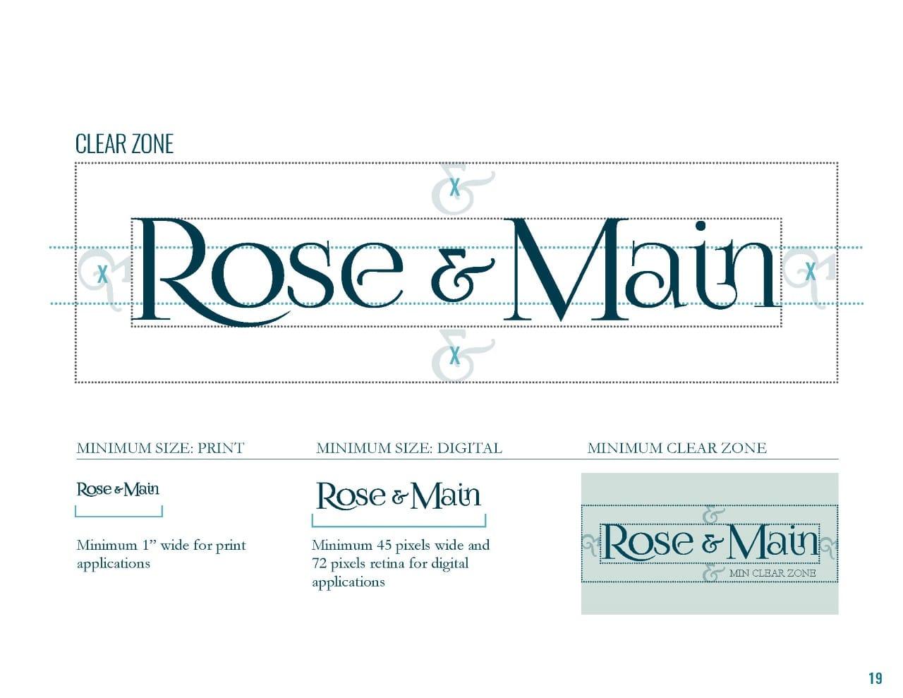 Rose & Main Brand Standards - Place Based Branding Logo