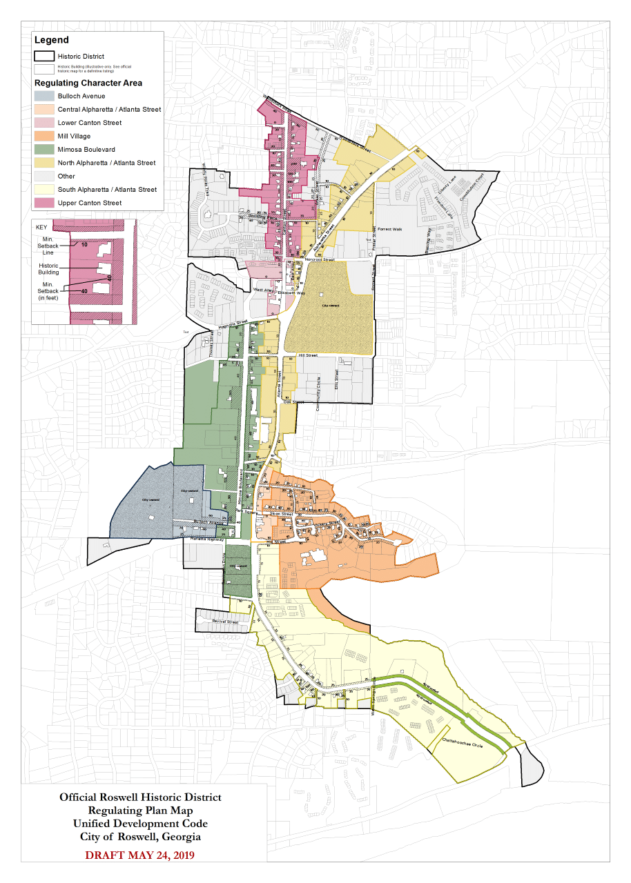 Roswell Historic District Master Plan