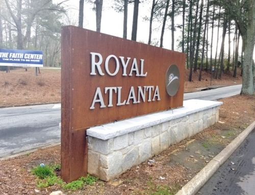 Royal Atlanta Sign