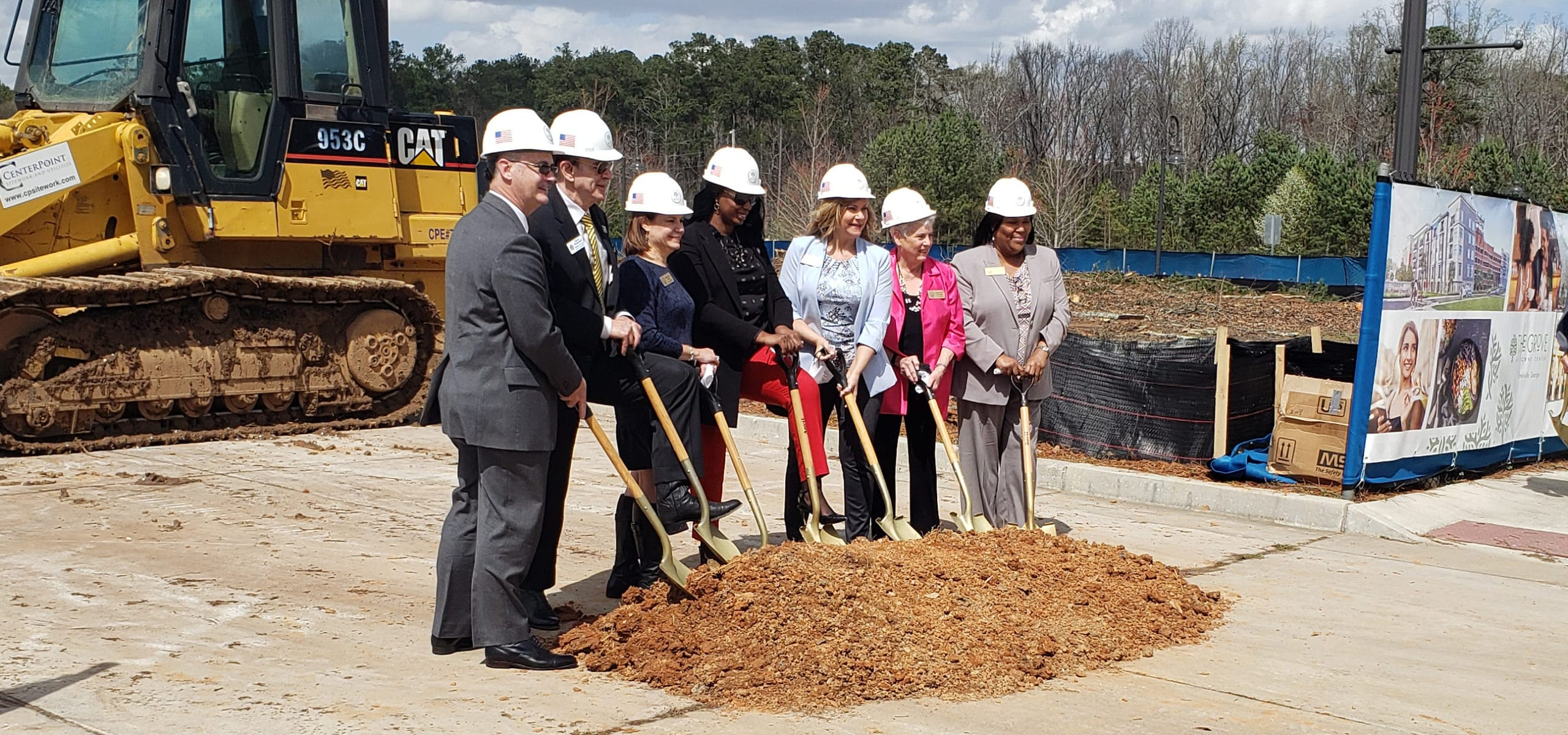 Snellville's The Grove at Towne Center Groundbreaking