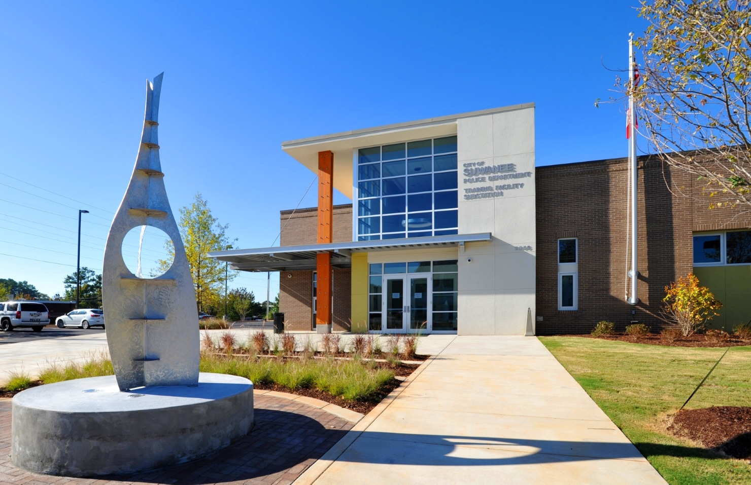 Suwanee Police Station civic structures