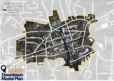 TSW TuckerDowntownMasterPlan-400x284 Tucker Downtown Master Plan Update In The News Planning  Tucker Downtown Master Plan   TSW
